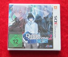 Devil Survivor 2 Record Breaker, Nintendo 3D 3DS Game, New, German Version