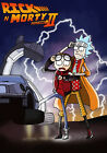 Rick And Morty TV Animation Fabric Art Cloth Poster 20inch x 13inch Decor 04