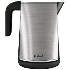 Hotpoint WK30MAX0 HD Line 1.7L Kettle Stainless Steel 3000W Rapid Cordless Jug