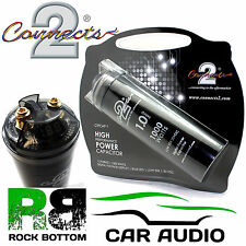 Connects2 POWER CTCAP-1 Farad 12v Car Bass System Digital Power Capacitor Cap