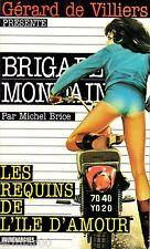 Brigade Mondaine / 8 / Les requins de l'Île d'Amour / M. BRICE / Erotique / 1Ed