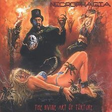 Divine Art of Torture by Necrophagia (CD, Feb-2003, Season of Mist)