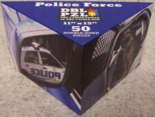 Jigsaw 2 sided Puzzle in the 3 sided box 50 piece Police Force NEW