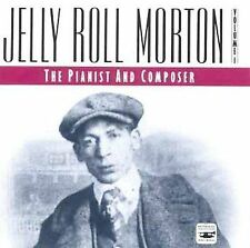 JELLY ROLL MORTON - The Pianist & Composer, Vol. 1 (CD,1991, Smithsonian..SEALED