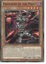 YU-GI-OH CARD: ENGRAVER OF THE MARK - BOSH-EN041 1ST EDITION