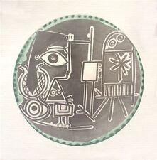100 Pablo Picasso Jacqueline au Chevalet Posters