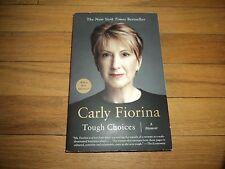 Carly Fiorina Tough Choices CEO Hewlett-Packard HP Powerful Female Executive