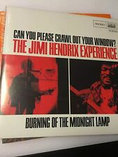 "JIMI HENDRIX EXPERIENCE ""CAN YOU PLEASE CRAWL""/""MIDNIGHT LAMP"" MONO 7"" VINYL"