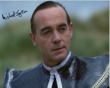 Michael Jayston signed photo - Dr Who - A749