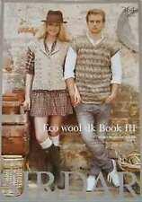 Sirdar eco lana DK Libro Iii 7 Diseños para hombres y mujeres