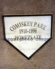 Comiskey Park homeplate marker Color 8x10 DD