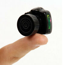 Black Smallest Mini Camera Camcorder Video Recorder DVR Spy Hidden Pinhole Cam