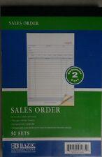12 Pieces 2 Part Carbon-less Sales Order Books Receipt Form Invoice 50 Set new