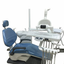 New Dental Unit Chair Hard Leather Comprehensive Treatment System OCEAN SHIPPING