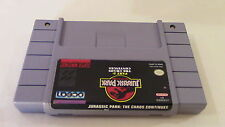 +++ JURASSIC PARK PART 2 CHAOS CONTINUES Super Nintendo SNES Game Cart! #2 +++