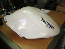 Triumph OEM Acerbis White Plastic Gas Petrol Fuel Tank 1050 Speed Triple 2400205
