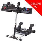 Wheel Stand Pro for Saitek Pro Flight Yoke System and Logitech G27 - Deluxe V2