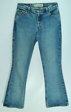 BUTTON FLY Mid Rise Flare AMERICAN EAGLE OUTFITTERS 100% Cotton Jeans! 6 Reg