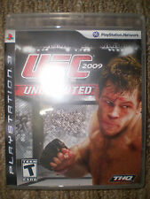 UFC UNDISPUTED 2009 PS3 NO MANUAL - DISC IN EXCELLENT CONDITION (FAST SHIPPER)