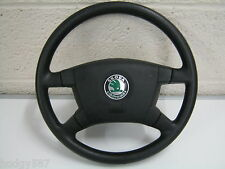 Skoda Fabia 00-04 Black steering wheel and airbag 6Y0 419 091 E 6Y0419091E