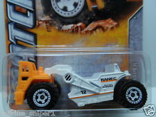 MATCHBOX 2012 MBX 1:64 MBX Construction RANEC SCRAPER #58 White Diecast Car