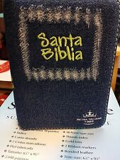 BIBLIA DE MEZCLIA VERDE RIENA VALERA CIERRE 1960