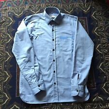 Men's Stone Island Long Sleeve Shirt Blue M Medium Excellent Condition