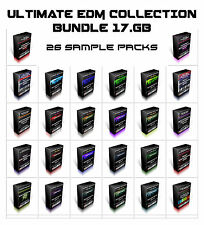 EDM BUNDLE 17GB Reason Refill Soundfont KONTAKT NKI Sample NNXT sf2 Nord Lead 3