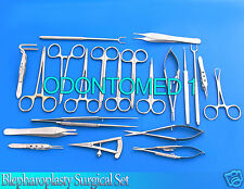 24 Pcs Blepharoplasty Surgical Instrument Set,ODM-619