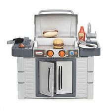 Little Tikes Cook n Grow BBQ GRILL, Kids Pretend Play Kitchen Outdoor TOY GRILL