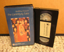 GEOFFREY CHAUCER documentary Canterbury Tales VHS medieval England poetry 1998