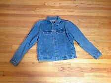 Vintage Gear For Sports Casual Button Down Denim Jacket Men's Size L