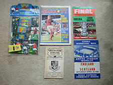 shoot magazine 16/8/69 first ever issue bobby moore whu west ham on cover