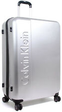 "Calvin Klein Manhattan 2.0 24"" Spinner Wheeled Upright Luggage - Silver"