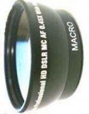 Wide Lens for JVC GZMG330B GZMG330R GZMG645B GZHD320BUS GR-AXM18 GR-D850 GC-A70
