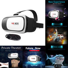 For LG V10 G5 G4 G3 G2 Google Cardboard 2nd Gen VR Box 3D Glasses + Gamepad
