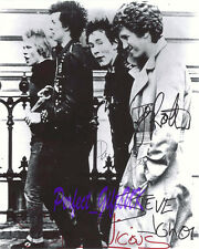 THE SEX PISTOLS SIGNED AUTOGRAPHED 10X8 PP RE-PRO PHOTO PRINT sid lydon jones