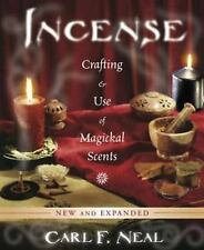 Incense: Crafting & Use of Magical Scents Book ~ Wiccan Pagan Supply