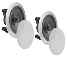 New Pyle Home PDIC61RDSL 6.5-Inch 2-Way In-Ceiling Speakers System (Pair) Silver