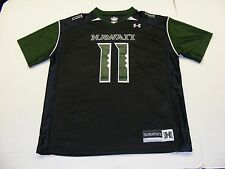 Under Armour University of Hawaii Warriors #11 Jersey Shirt 100% Nylon SZ LG EUC