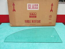 1957-58 FORD CUSTOM 300 2 DOOR  TINTED  REAR QUARTER GLASS  NOS FORD  616