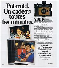 PUBLICITE ADVERTISING 104 1977 POLAROID EE33 appareil photo