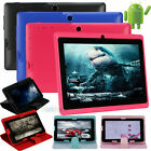 """7"""" Google Android 4.4 Quad Core A33 8G Tablet PC Cameras 3G WIFI GPS w/ Case NEW"""