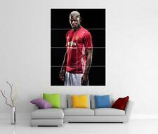 PAUL POGBA MANCHESTER UNITED MAN UTD FC GIANT ART PHOTO PIC PRINT POSTER