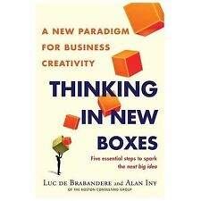 Thinking in New Boxes: A New Paradigm for Business Creativity - LikeNew - De Bra