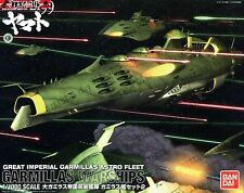 Garmillas Warships Set 2 Scale 1/1000 Bandai Model Space Battleship Yamato 2199