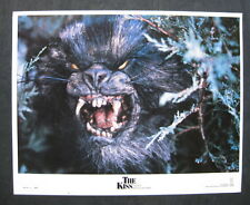 THE KISS 1989 Original US lobby card set horror fantasy Joanna Pacula rodent