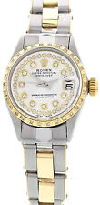 Ladies Rolex Oyster Perpetual Datejust 6517 Diamonds