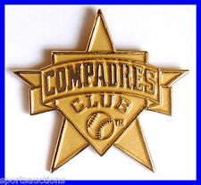 SAN DIEGO PADRES Baseball GOLD COMPADRES CLUB Hat Lapel Pin ~ Quantity Available
