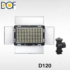 F&V LED Video Light Canon Nikon DSLR Camera DV Camcorder 120 led video light